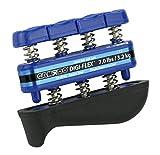Cando W51122 Digi Flex Aparato Para Ejercitar dedos y Manos, 3,2 kg, Peso Total 10,5 kg, Azul/Pesado