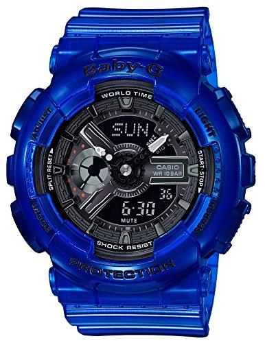 [カシオ] 腕時計 ベビージー BA-110CR-2AJF レディース ブルー