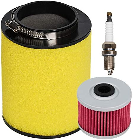 HIFROM ATV Air Filter New Max 83% OFF sales Element 17254-HP5-600 with Oil Cleaner Fil