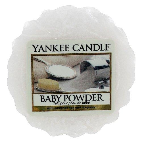 YANKEE CANDLE Tarts Teelichter-Kerzen, Wax, Weiß, Einzel