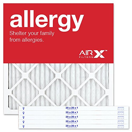AIRx ALLERGY 20x20x1 MERV 11 Pleated Air Filter