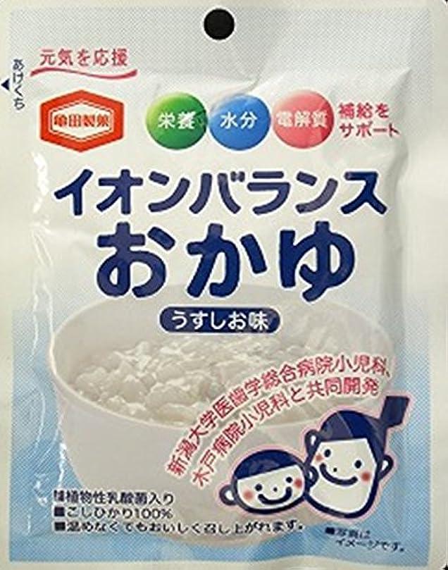 ミサイル靄ディレイ亀田製菓 イオンバランスおかゆ 100g×6食