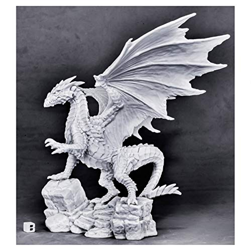 Reaper Miniatures Kyphrixis, The Copper Dragon#77565 Bones Unpainted Plastic