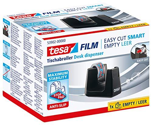 Portarrollos de sobremesa tesafilm, color negro