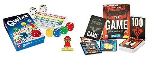 Danto Spiele-Set mit QWIXX Würfelspiel und The Game Kartenspiel als Vorteilspack