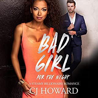 A Bad Girl for the Night audiobook cover art