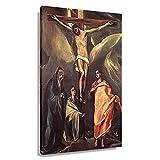 El Greco – Christus am Kreuz mit zwei Maries und St. John