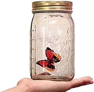 Enjoyer Electronic Butterfly in a Jar-Magic Tricks Close Up Magic Props Stage Illusions Magician Accessories