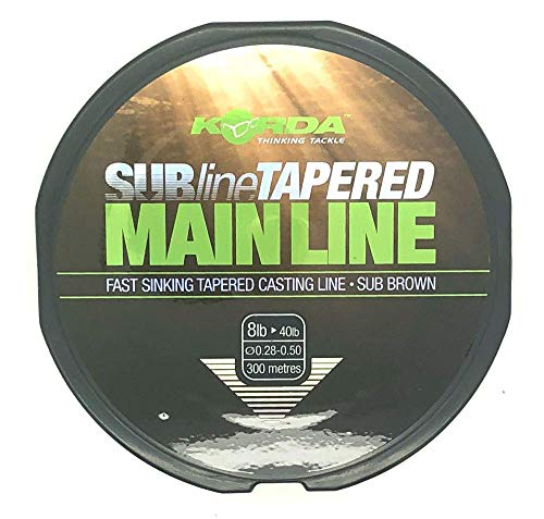 Korda Subline Tapered Mainline 5.4kg – 18.1kg