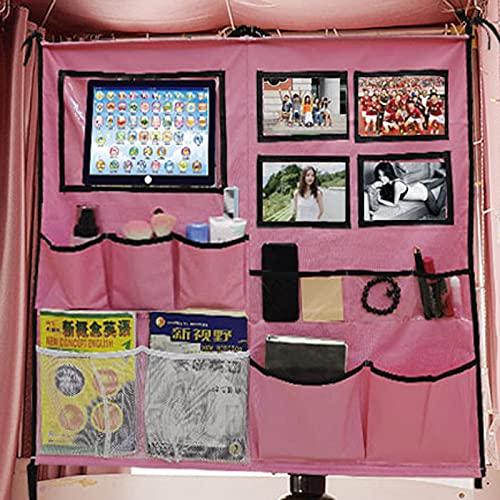 YHSW sofá Bolsillo Junto a la Cama,Bolsa de Almacenamiento literas Dormitorio,Puede Poner Fotos,se USA almacenar artículos pequeños como teléfonos,tabletas,Controles remotos,revistas,etc.