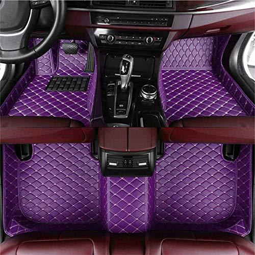 NHJUIJ Auto Fußmatten Anpassbare, Kompatibel Mit Chr-ysler 300 C (2004-2020), Auto Fußmatten, Kunstleder Fussmatten Wasserdicht Tragen Anti Rutsch Matten