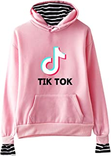 OHYOUNG TIK Tok Hoodie Patchwork 2 in 1 Pullover Striped Unisex C00605WY14