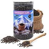 Nortembio Sel Noir de l'Himalaya 1,45 Kg. Gros (2-5 mm). 100% Naturels. sans Affiner. sans Conservateurs. Extraits à la Main. Qualité Premium.