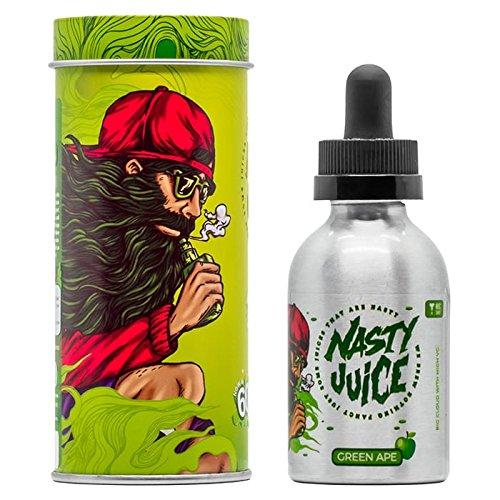 Nasty Juice GREEN APE Premium E-Liquid 60ml ohne Nikotin