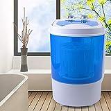 Mini machine à laver mobile pour camping - essorage semi-automatique - Pour célibataires et étudiants