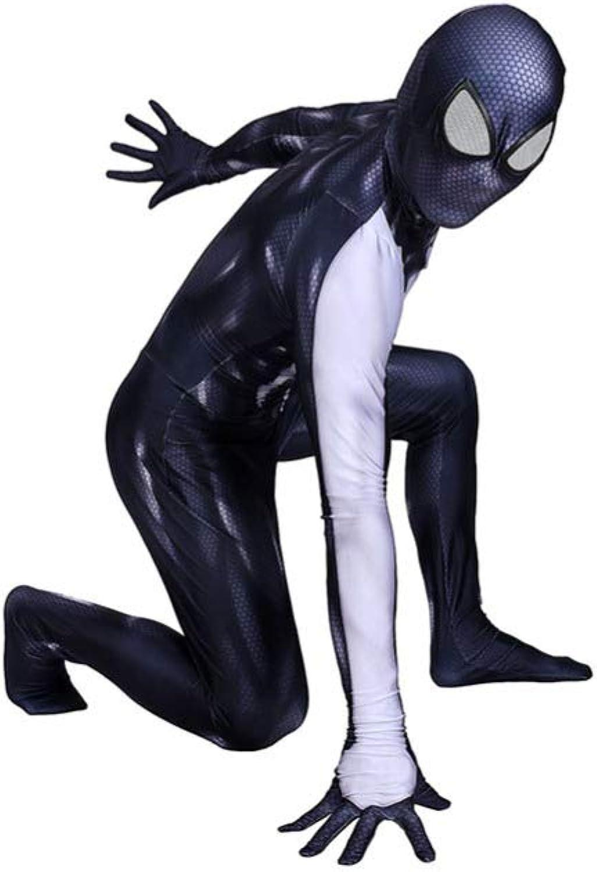 comprar mejor XINFUKL Venom Spider-Man Costume Halloween Vestido De De De Una Sola Pieza Fiesta De Disfraces Fiesta Temática Apoyos De La Película,mujer-M  seguro de calidad