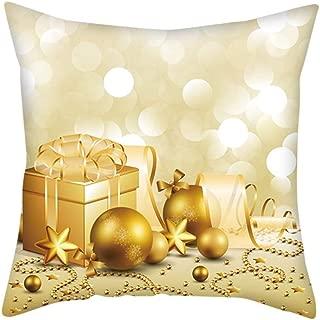 Trisee Throw Pillow Case para Navidad, Fundas de Almohada ...