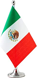 Best Mflagperft Mexico Flag Mexican Table Desk Small Mini Flags Decorations Review