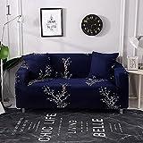 WXQY Funda de sofá elástica Floral Simple combinación de Funda...