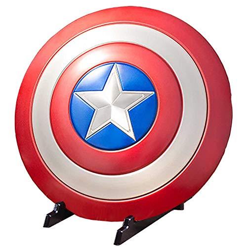 sookin Rubie's Marvel Captain America Captain America Shield Metall Wandbehang Dekorationen 1: 1 Legends Series Film Nachbau Props Kreative Bar Shop Modell Dekoration Cosplay-Schild