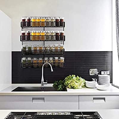 Us Fast Shipment Modern Simple Spice Racks With...