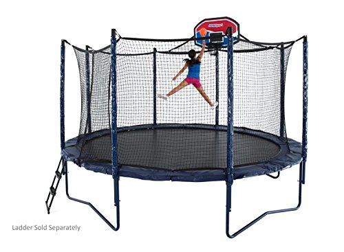 JumpSport Elite Basketball Trampoline Package