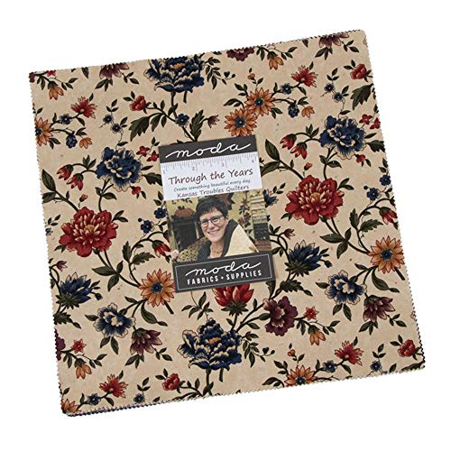 Kansas Troubles Through The Years Layer Cake 42 10-inch Squares Moda Fabrics 9620LC