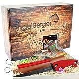 Angel-Berger Raubfisch Geschenk Box Angelset