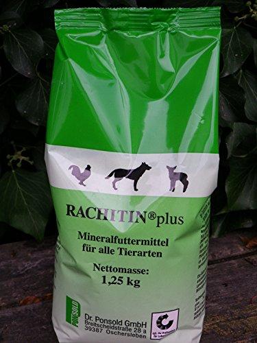 Rachitin® Plus Mineralfuttermittel für alle Tiere 1,25 kg Tüte