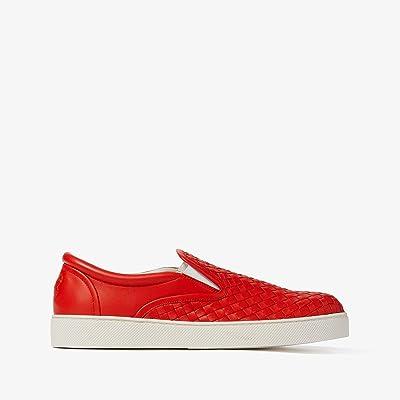Bottega Veneta Dodger II Slip-On Sneaker (Lava) Men