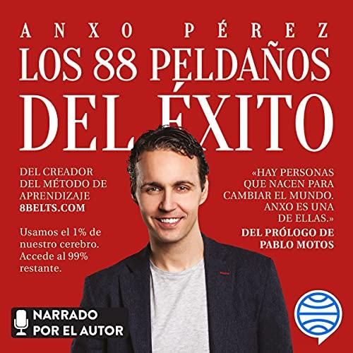 Diseño de la portada del título Los 88 peldaños del éxito