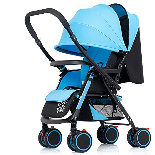 Why Should You Buy Goquik Lightweight Folding Baby Stroller Four-Wheel Shock Absorber Sitting and Ly...