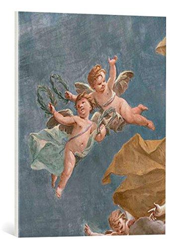 Kunst für Alle Cuadro en Lienzo: Giovanni Battista Crosato Apotheosis of Poetry - Impresión artística, Lienzo en Bastidor, 55x70 cm
