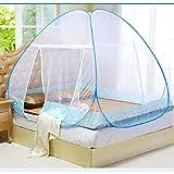 Maritown Moustiquaire de lit de moustiquaire d'auvent de Porte de lit Simple, Installation Rapide Facile,...
