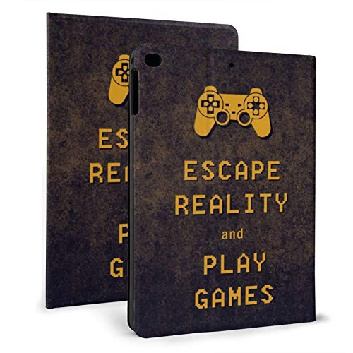 Ipad Mini Case 4/5, Escape Reality Keep Calm and Play Games 7.9 Inch Slim Fit Lightweight Smart Case Cover for Ipad Mini 4th Gen and 5th Gen 2019 Auto Sleep Wakeup