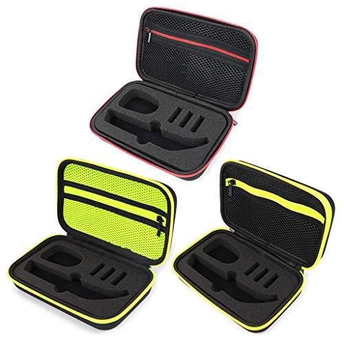 S-TROUBLE Étui de Rasoir Portable OneBlade Trimmer et Accessoires EVA Travel Bag Zipper Storage Pack Box Pro QP150 / QP6520 / QP6510