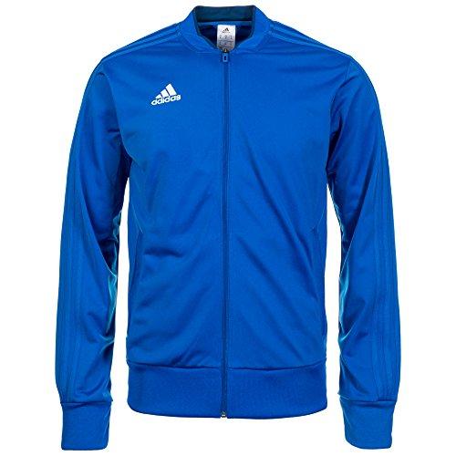 adidas Herren CON18 PES JKT Sport Jacket, Bold Blue/Dark Blue/White, L