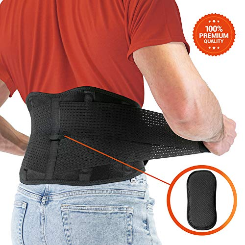 FITGAME Back Brace - Lower Back Support Belt for Pain Relief |...