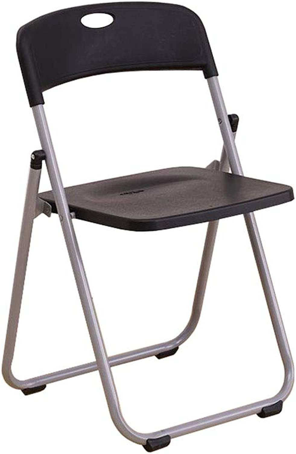Folding Chair Desk Chair Office Reception Dining Backrest Chair Steel+Plastic