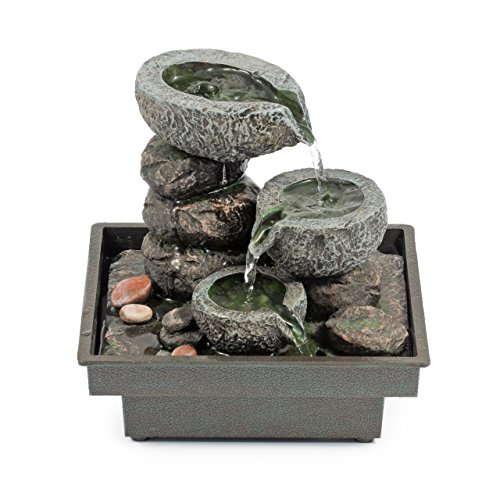 pajoma Zimmerbrunnen Floating Stones, Höhe 25 cm