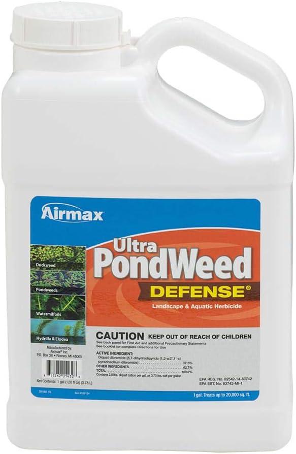 Popular product Airmax Ultra Pondweed Defense Herbicide Aquatic Gallon New item 1