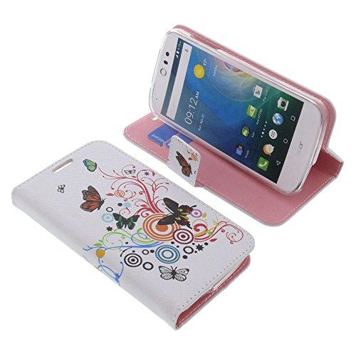 foto-kontor Tasche für Acer Liquid Z530 Liquid M530 Book Style Schmetterlinge Schutz Hülle Buch