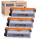 Jofoce Compatible Toner Cartridge Replacement for Brother TN660 TN-660 TN630, Compatible with Brother HL-L2340DW MFC-L2700DW DCP-L2540DW HL-L2380DW HL-L2300D MFC-L2740DW DCP-L2520DW Printer