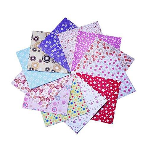 Ogquaton 72 Piezas de Papel de Origami Cuadrado con Estampado de Papeles Plegables de Papel Hecho a Mano para proyectos de Manualidades y Bricolaje - 15 * 15 cm - Color Aleatorio Duradero y útil