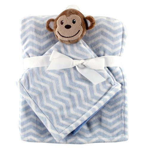 Hudson Baby Plush Security Blanket Set, Monkey by Hudson Baby (English Manual)