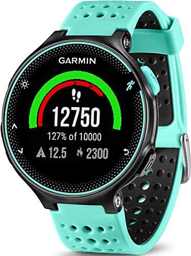 Garmin - Forerunner 235 - Montre de Running GPS avec Cardio au Poignet (Ecran : 1,23 pouces) - Noir/Rouge