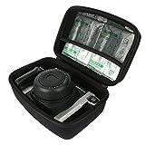 Khanka Duro EVA Viaje Estuche Bolso Funda Case para Fujifilm Instax 300 cámara instantánea / Fujifilm Instax 210 Cámara analógica instantánea - Negro.