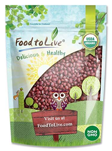 Organic Adzuki Beans by Food to Live (Kosher, Dried, Bulk )