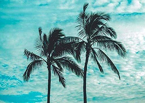 Palmbomen Voor Volwassenen En Kinderen Diy Klassiek Schilderij Modern Home Decor Festival Gift Intellectueel Spel Wall Art Legpuzzel-1000 Stukjes