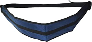 HNYG Wheelchair Seat Belt, Adjustable Wheelchair Safety Strap, Medical Restraints Strap for Elderly and Patients (Blue)